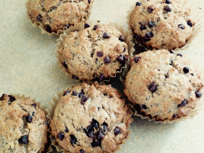 One way to use up overripe bananas . . .