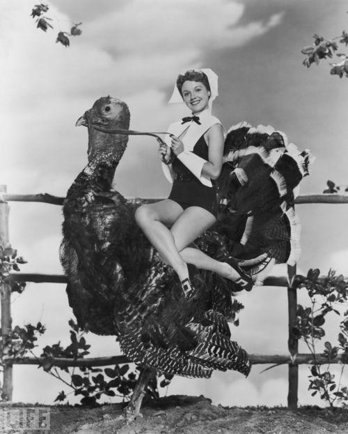 lady-riding-a-turkey