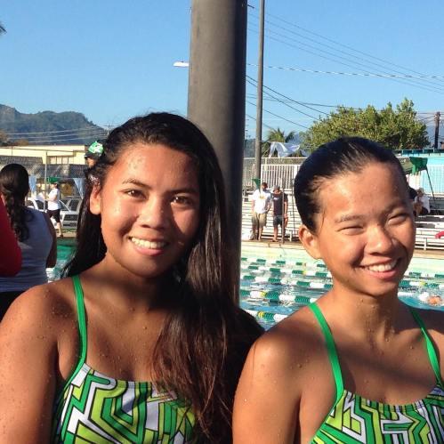 Beautiful swimmers