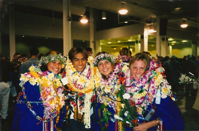 Graduation leis are a BIG deal here in Hawai'i.