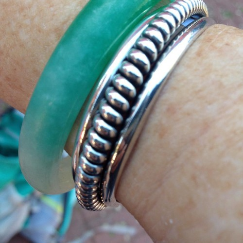 My beautiful Navajo bracelet!