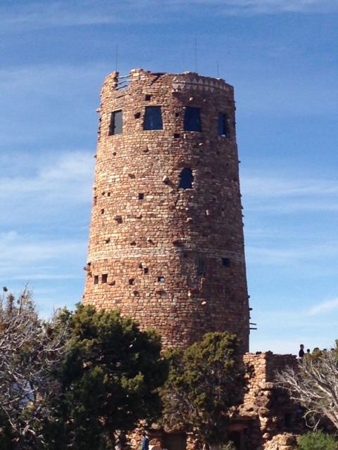 The Watchtower at Desert View, also designed by Mary Coulter