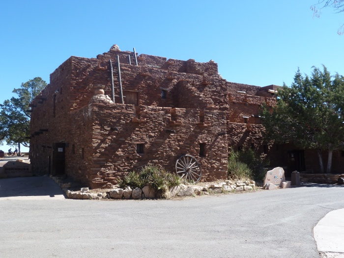 Hopi House, designed my architect Mary Coulter.