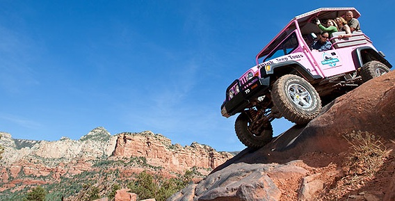 Grand Canyon Tours From Phoenix Pink Jeep