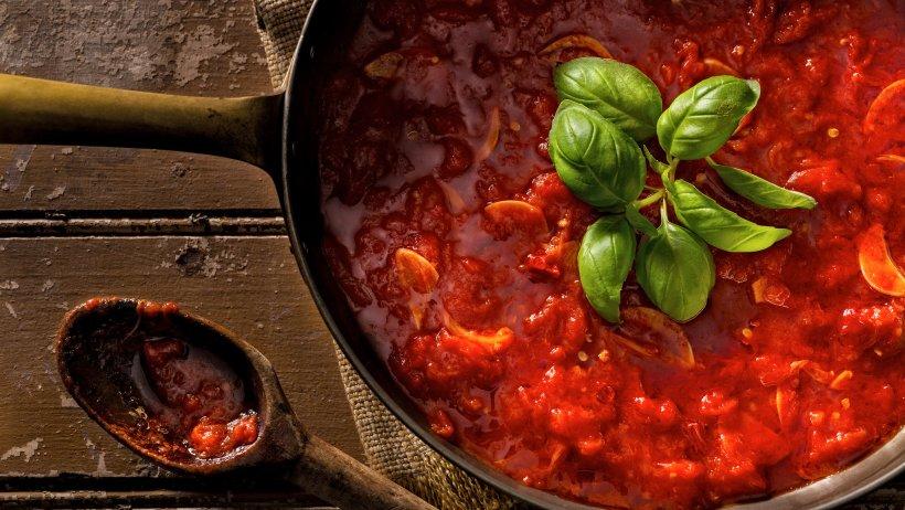 Classic Marina Sauce (photo courtesy of the NY Times)