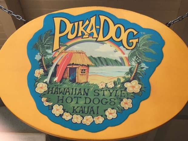 There's almost always a line at Puka Dogs!