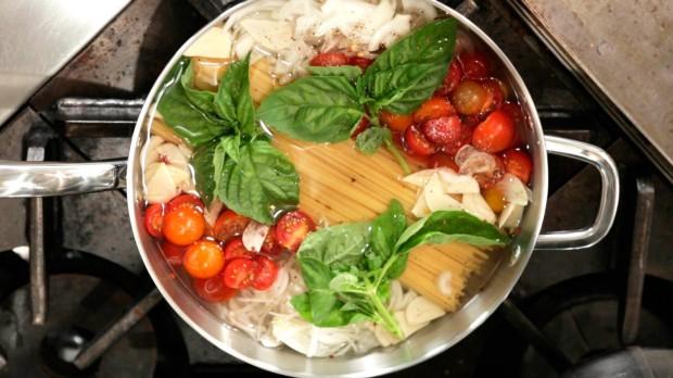 Martha Stewart's one-pot pasta