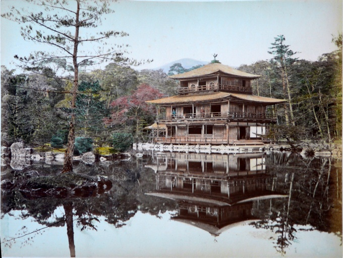 The Golden Pavilion in 1885 didn't have a whole lot of gold