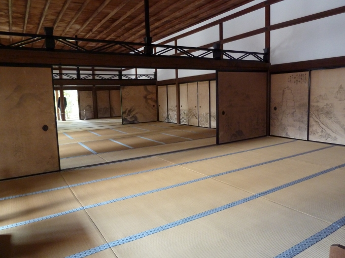 Ryoanji Temple interior
