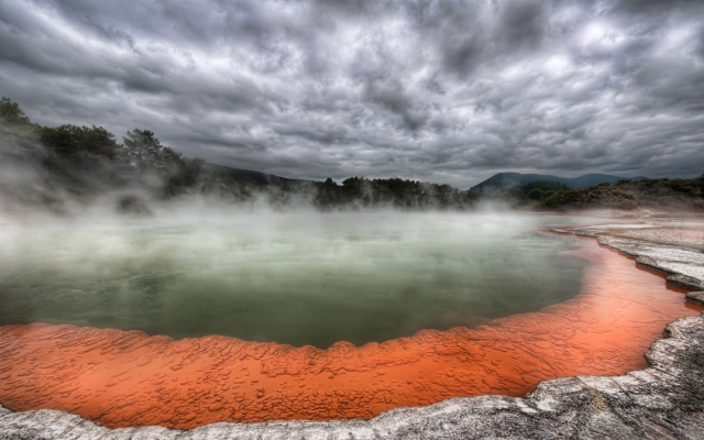 Beautiful Rotorua, New Zealand