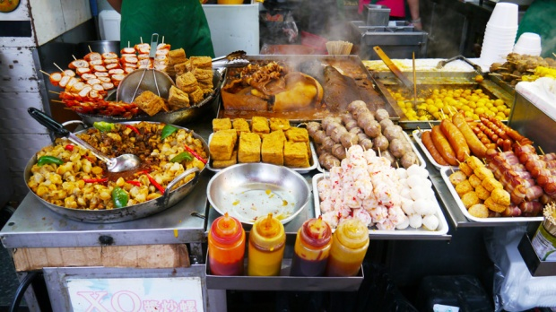 LOVE Hong Kong street food no matter the calories