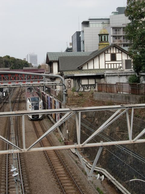 Harajuku Station, with its distinctive cupola and European style