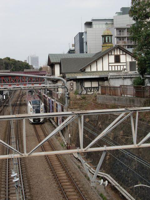 Harajuku Station, with its distinctive cupola and European style