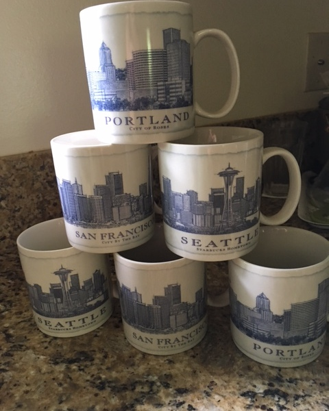 The architecture mugs are BIG so we use them for soup