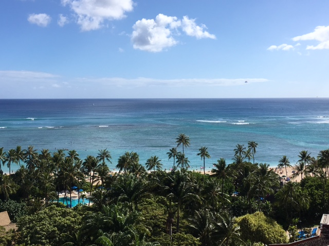 The view from our lanai.