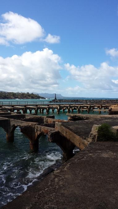 Ahukini Pier
