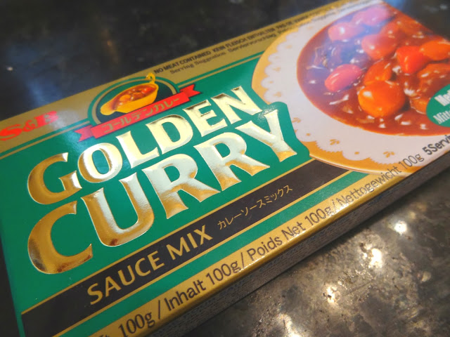 Our favorite brand of Japanese curry sauce