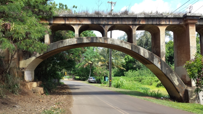 Hanamaulu River Railroad Bridge