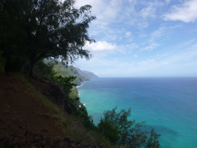 Na Pali Coast from .5 Mile Marker