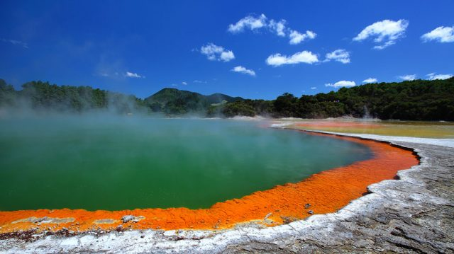 Rotorua, New Zealand - one of the places we hope to visit in the fall of 2018