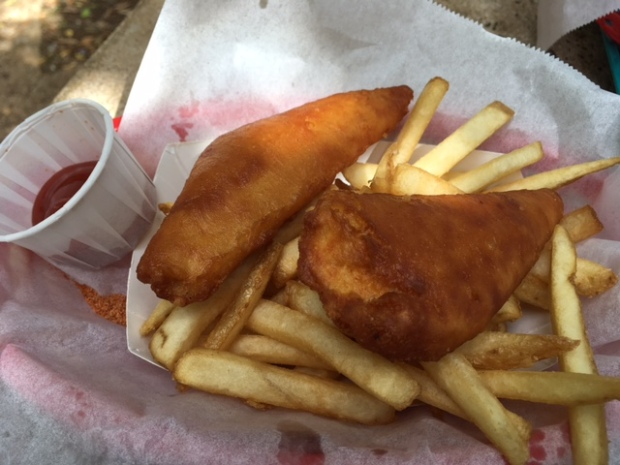 Fish & chips - very tasty!