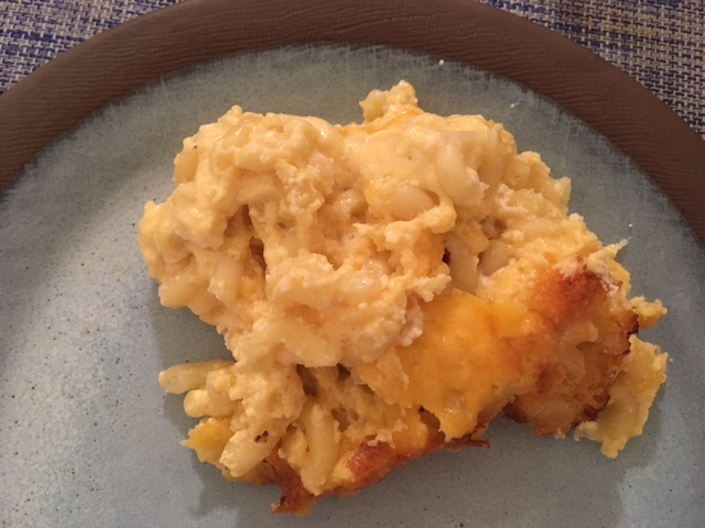 Creamy macaroni & cheese from the New York Times. It was amazing.