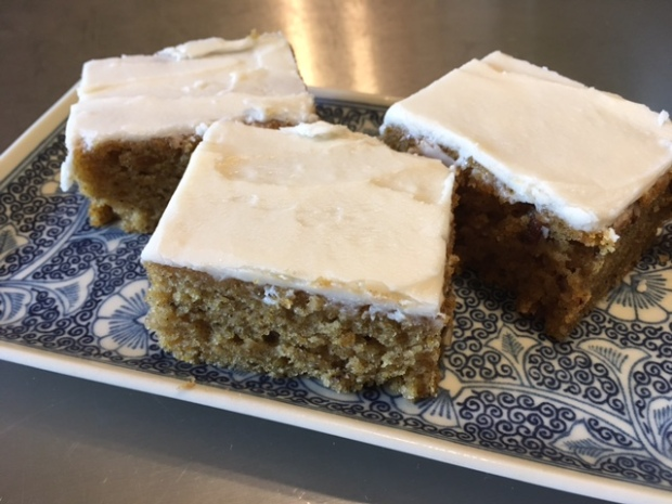 Pumpkin bars!