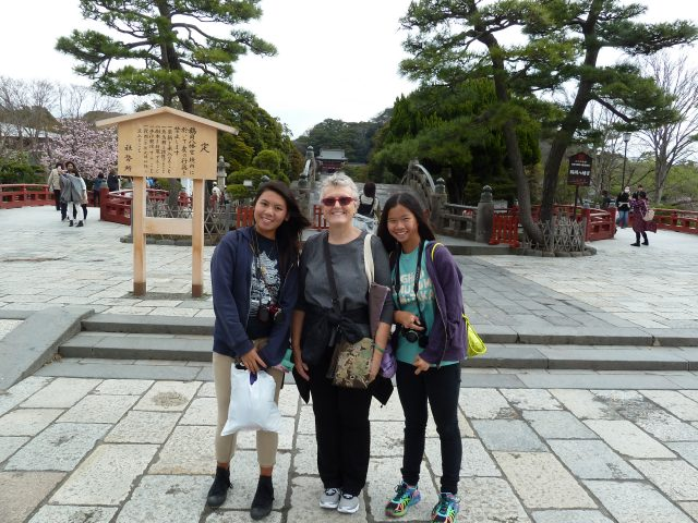 Ready to check out Hachimangu Shrine