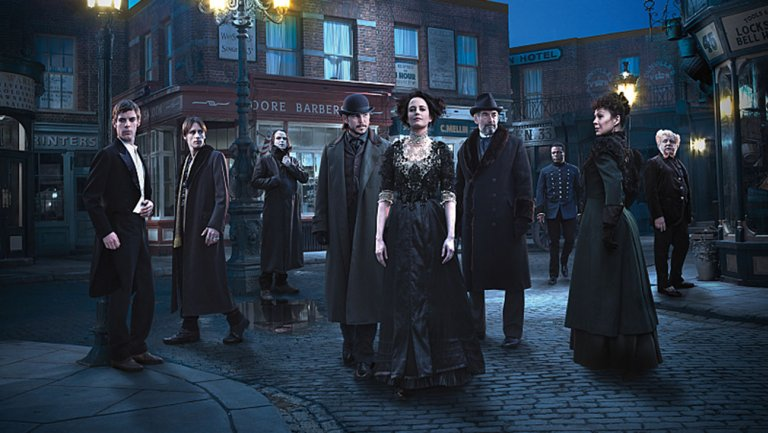 My kind of show! So sad there are only three seasons of 'Penny Dreadful.'
