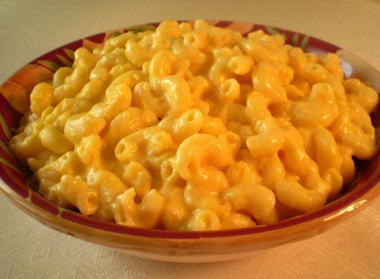 Paula Deen's slow cooker macaroni & cheese