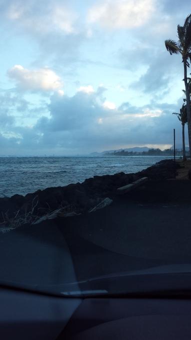 Gloomy Sunset