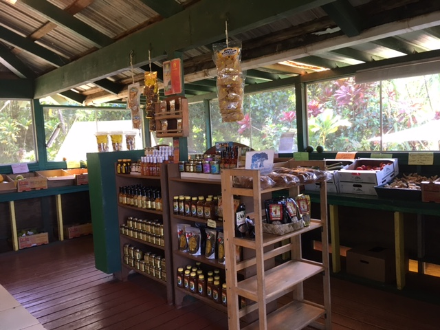 Banana Joe's offers a wide selection of Kaua'i-produced treats as well as local produce and drink.
