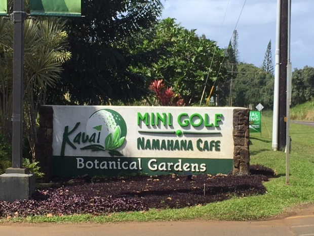 Kaua'i Mini Golf and Botanical Garden is a popular attraction on the island, for both visitors and locals alike.