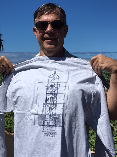 New Winter T-Shirt-Kilauea Lighthouse