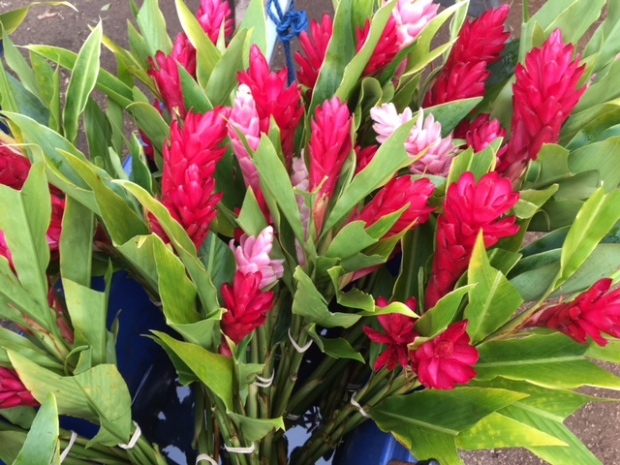 Hawaiian ginger bouquets