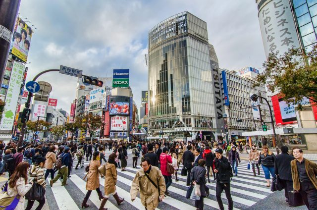 Shibuya Crossing always makes my heart beat a little faster