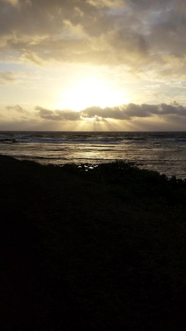 Sunrise, April 17, 2017, Kapaa
