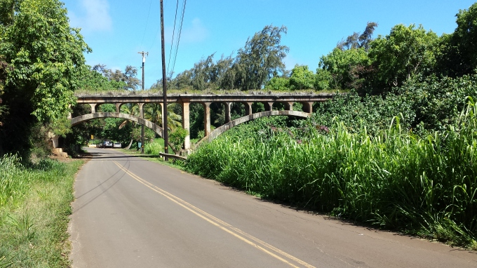 Viaduct Spanning Hanamaulu Steam