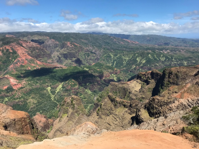 Panoramic View from Waimea Canyon Overlook