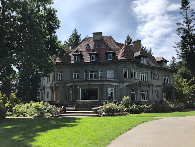 Portland Pittock Mansion The Occasional Nomads