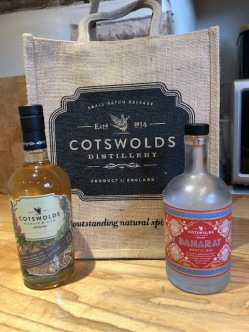 Local Cotswold gin from Broadway