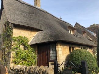 Thatched cottage in Broad Campden