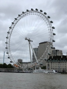 The London Eye from the Westminster Pier