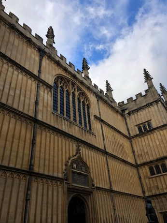The Divinity School (seen in several Harry Potter movies)