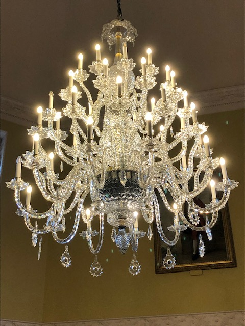 The Great Octagon Room chandelier