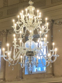 The Tea Room chandelier