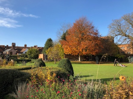 The Grand Garden at Shakespeare's New House