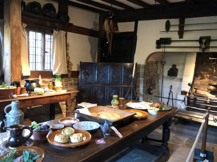 Tudor-era kitchen in Hall Croft