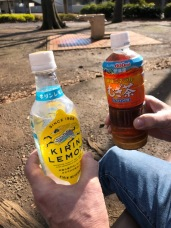 Our favorite refreshing beverages on a warm day.