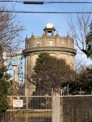 One of the two Komazawa water towers.